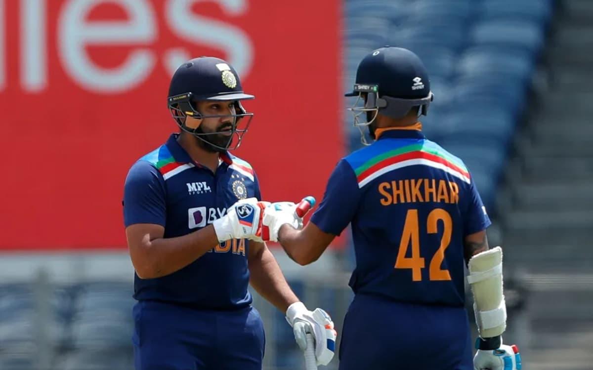 Cricket Image for रोहित शर्मा- शिखर धवन की जोड़ी ने रचा इतिहास, गिलक्रिस्ट-हेडन की खतरनाक जोड़ी का र
