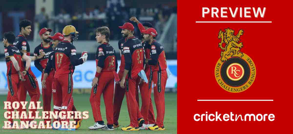 RCB IPL 2021 Team Preview