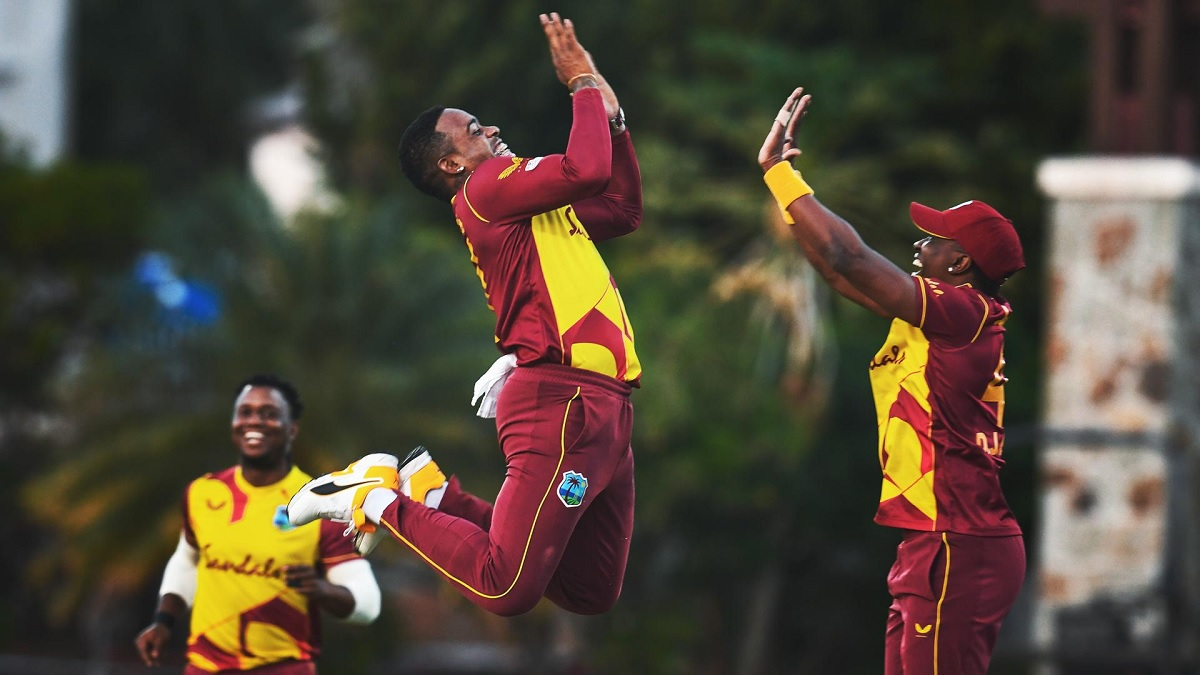 SL vs WI Indies Beat Sri Lanka By 3 Wickets To Seal The Series By 2-1