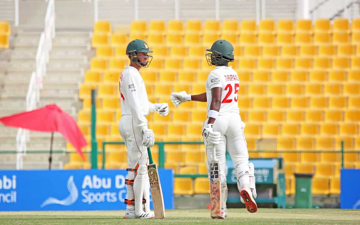 Cricket Image for 2nd Test,Day 5: Sean Williams, Donald Tiripano Lead Zimbabwe Resistance