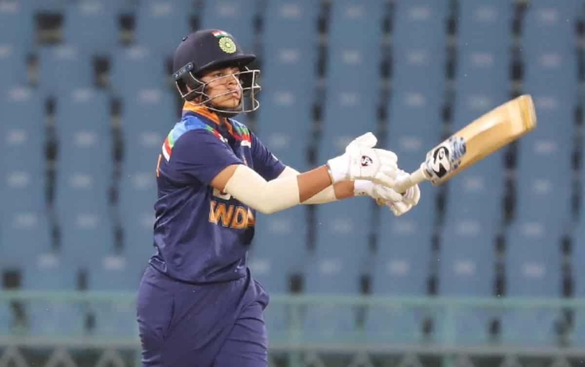 Shafali Verma blasts 30-ball 60, score 58 runs through boundaries
