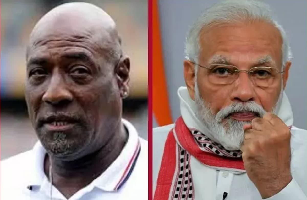 Sir Viv Richards Thank PM Modi For India's Gift Of Vaccines