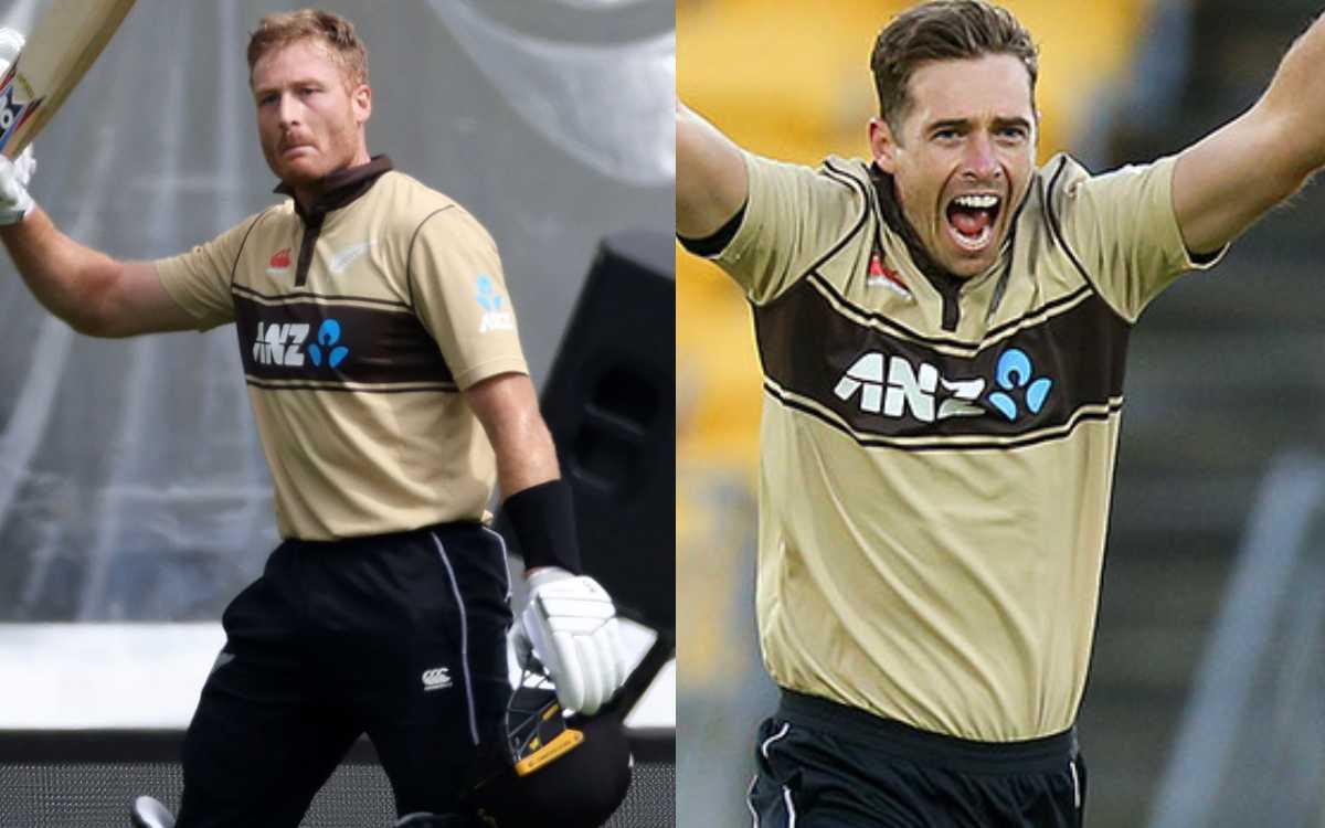 Cricket Image for NZ vs BAN: मार्टिन गुप्टिल-टिम साउदी T20I में इतिहास रचने के करीब,दुनिया का कोई क्