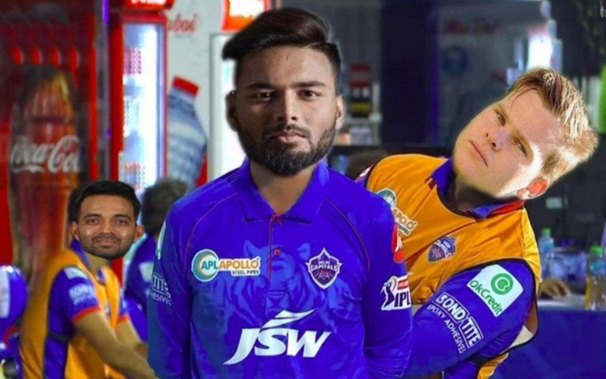 Cricket Image for Steve Smith Troll After Rishabh Pant Replace Shreyas Iyer As Delhi Capitals Captai