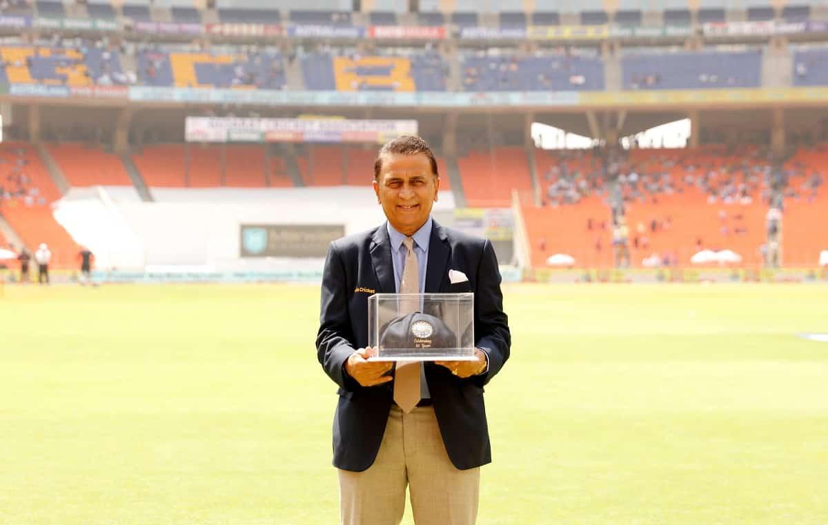 Cricket Image for सुनील गावस्कर के टेस्ट डेब्यू को 50 साल हुए पूरे,बीसीसीआई ने ऐसे किया सम्मानित,देख