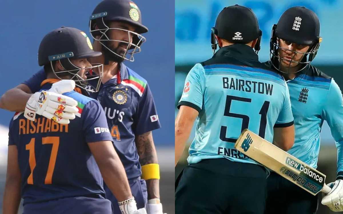 Cricket Image for भारत-इंग्लैंड के दूसरे वनडे में बना अनोखा रिकॉर्ड, 50 साल के इतिहास में पहली बार ह