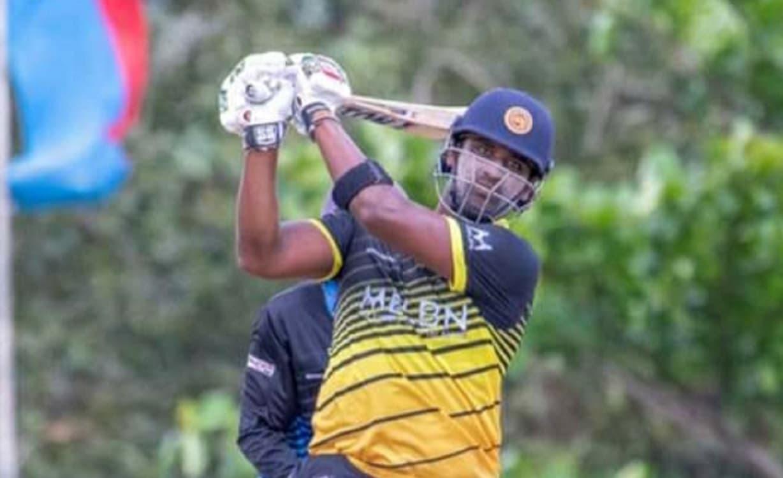 Cricket Image for थिसारा परेरा ने एक ओवर में जड़े 6 छक्के, खेली 13 गेंदों में 52 रनों की तूफानी पारी