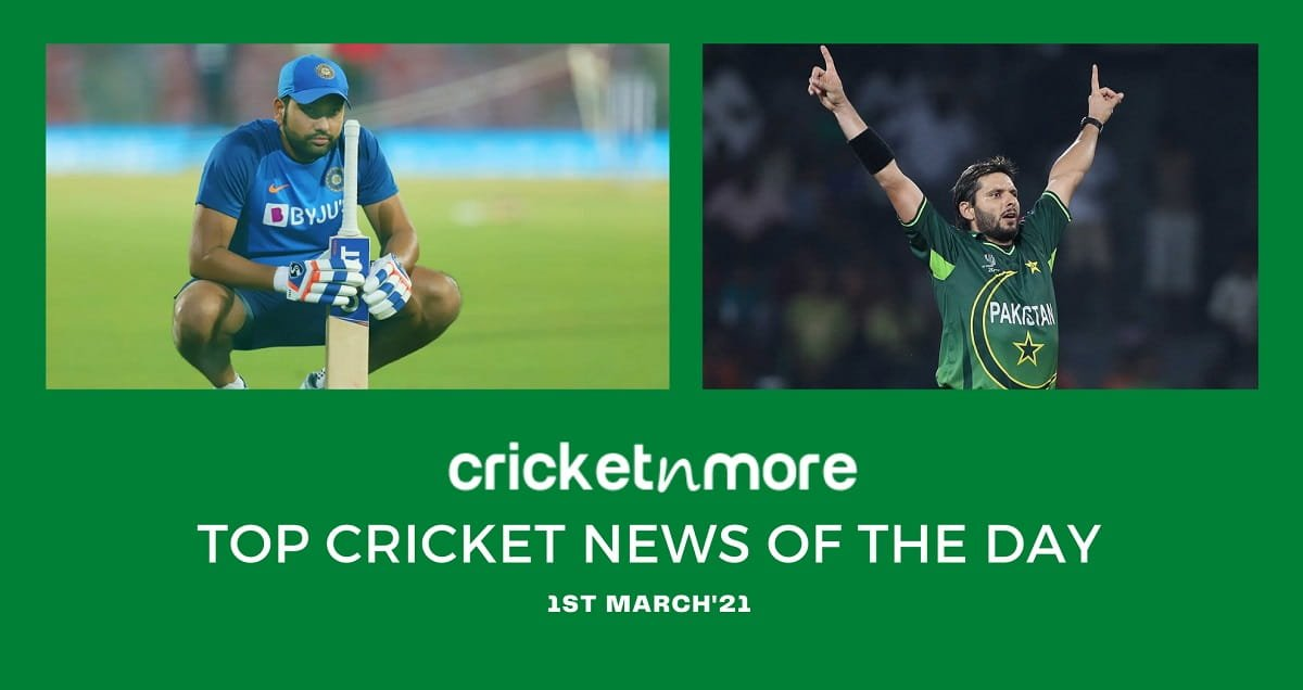 Top Cricket News Of The Day 1st Mar
