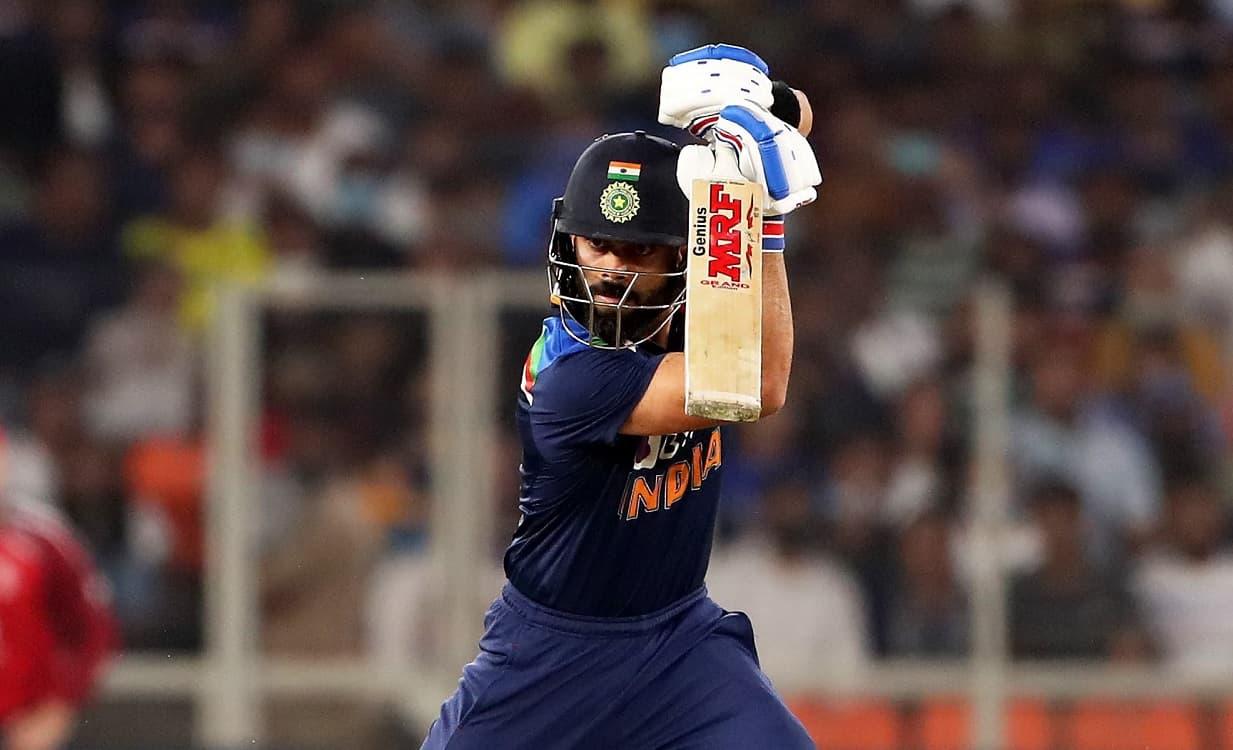 Skipper Virat Kohli's 77 give India 156/6