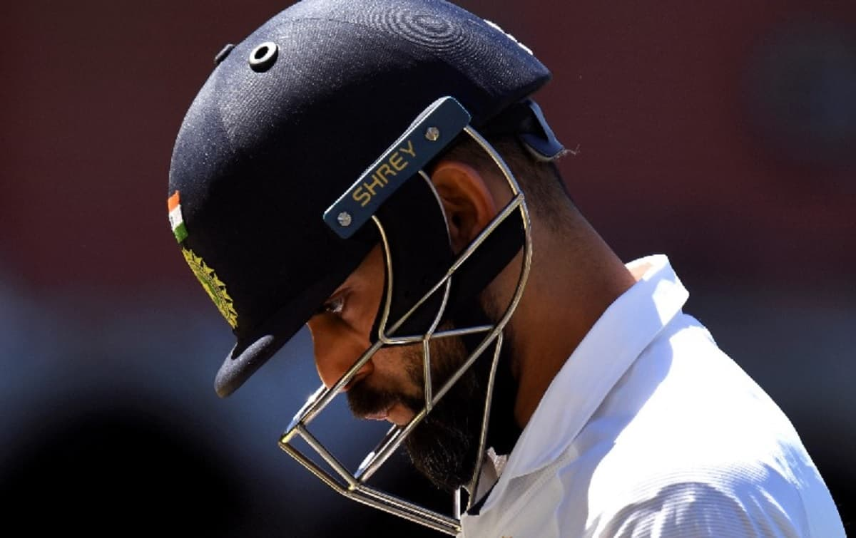 first time since 2014 that Kohli has been dismissed for a duck twice in a series