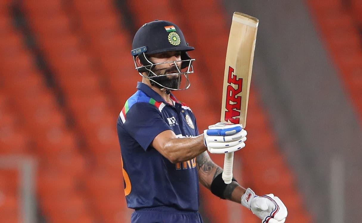 Cricket Image for विराट कोहली ने 77 रन की तूफानी पारी से बनाया World Record, सचिन तेंदुलकर को भी छोड