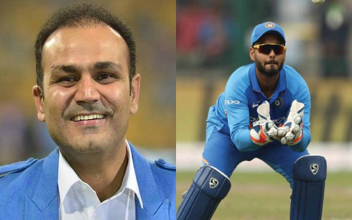 Cricket Image for Virender Sehwag Praise Rishabh Pant Says He Reminds Him Of His Early Days