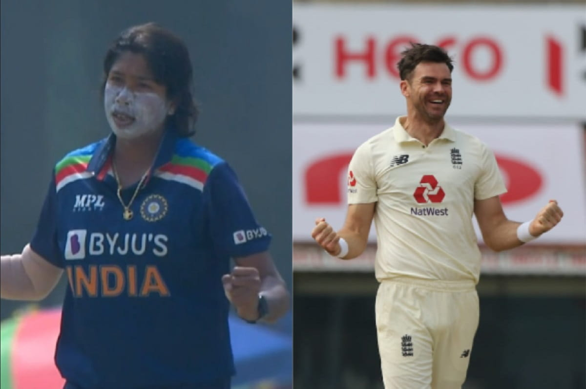 Wasim Jaffer compares Jhulan Goswami with James Anderson
