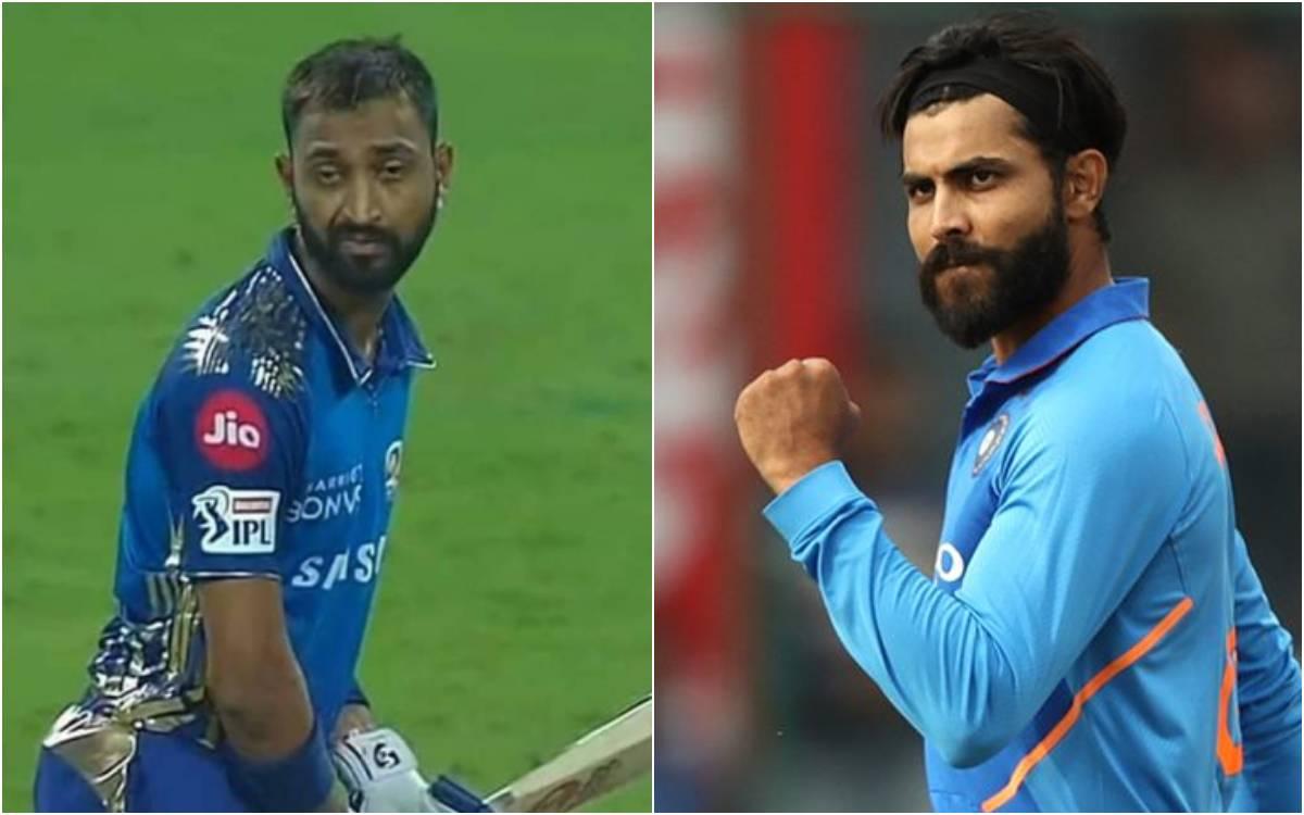 Cricket Image for 'भाई जडेजा नहीं है इसलिए ये तुम्हारा पहला और आखिरी मौका है