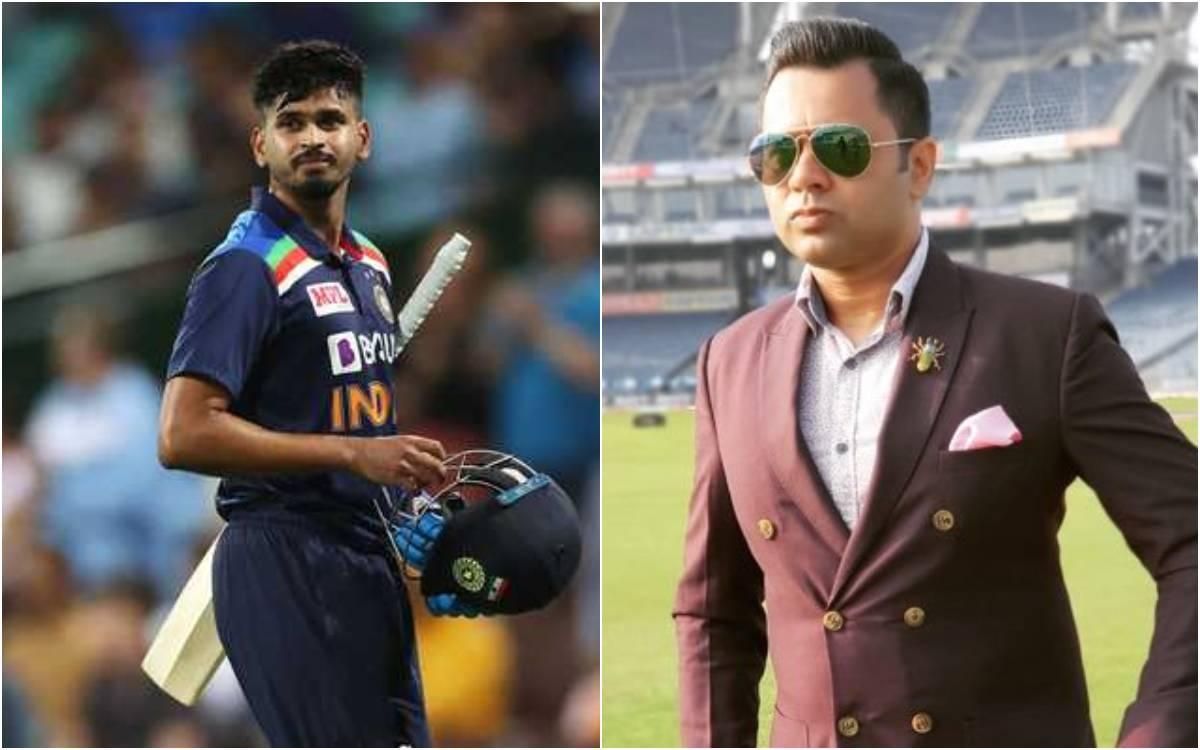 Cricket Image for श्रेयस अय्यर को लेकर आकाश चोपड़ा का बड़ा बयान, कहा- नंबर 6 पर इस खिलाड़ी के खेलने