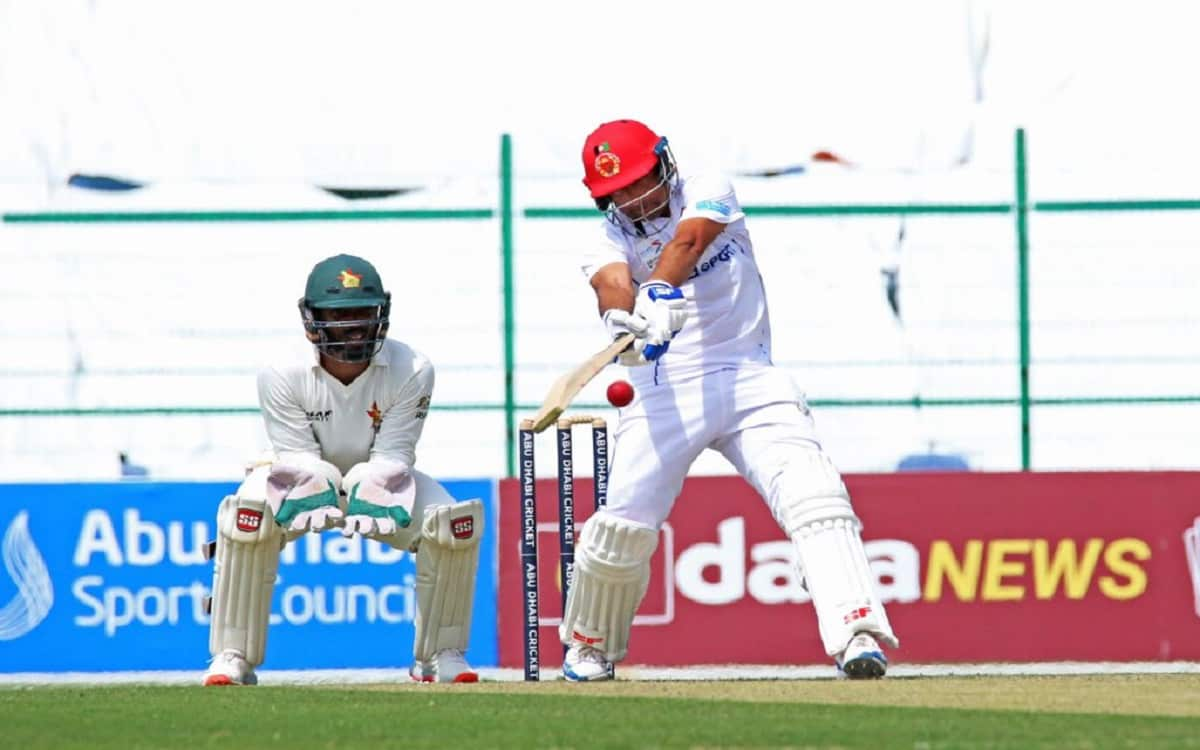 Cricket Image for AFG vs ZIM, 2nd Test: Asghar Afghan Scores Ton As Afghanistan Dominate On Day 1 Ag