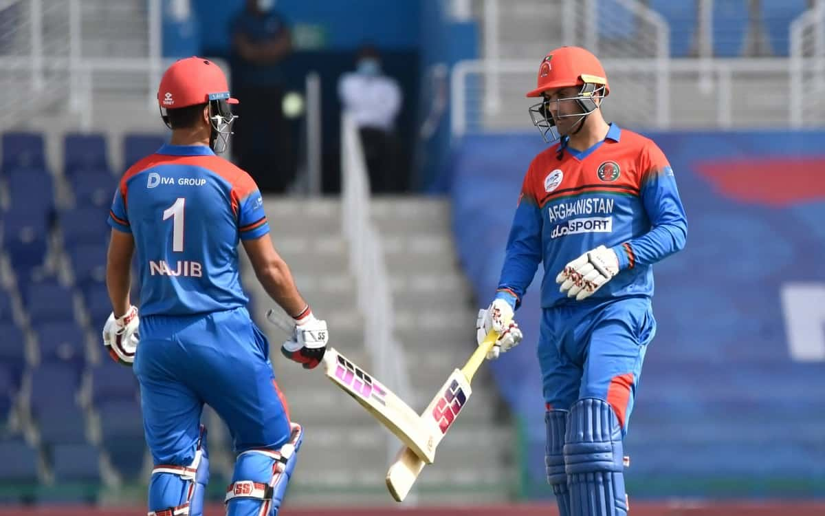 Cricket Image for AFG vs ZIM: Afghans Seal T20 Series With 45-Run Win Over Zimbabwe