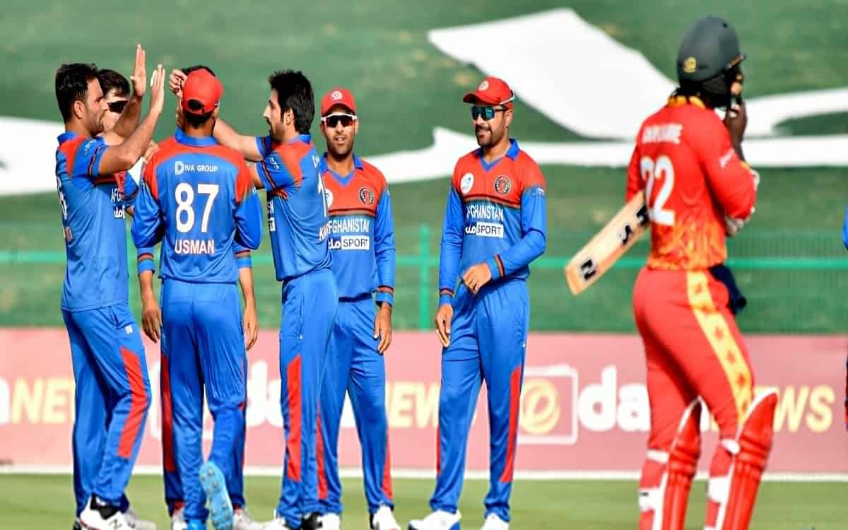 Cricket Image for  Afghanistan Beat Zimbabwe By 48 Runs To Take A 1 0 Lead In The Series In T20i Cri
