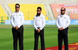 Ahmad Shah Pakhtin become Afghanistan's first onfield test umpire