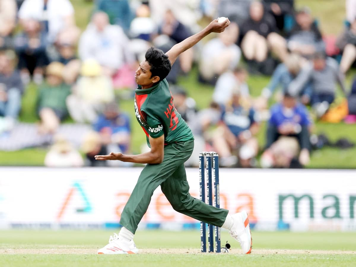 Cricket Image for Bangladesh Pacer Hasan Mahmud Ruled Out New Zealand T20s
