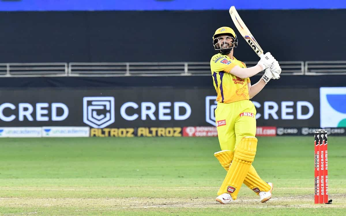 Cricket Image for Batsman Ruturaj Gaikwad Achieved Lost Form By Ms Dhoni Advised In Indian Premier L