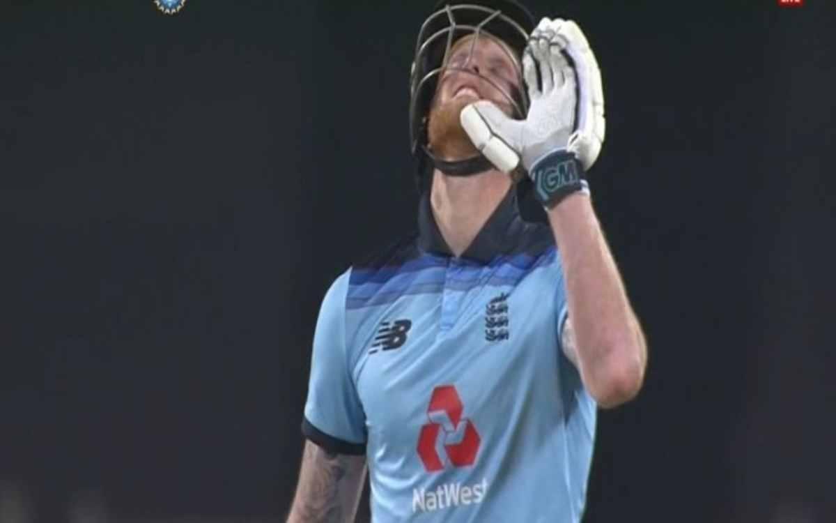 Cricket Image for 'Sorry Dad', 99 पर आउट होने के बाद स्टोक्स ने मांगी अपने पिता से माफी, वीडियो देखक