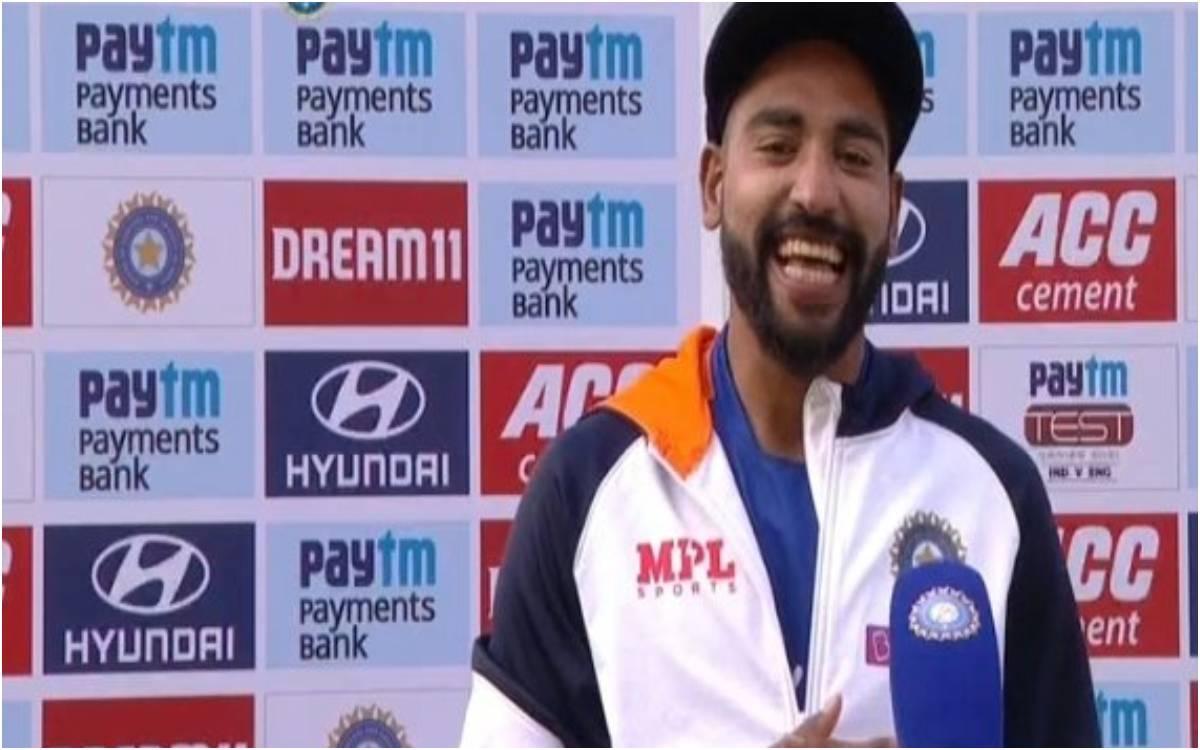 Cricket Image for VIDEO : 'उसने मुझे गाली दी फिर मैंने विराट भाई को बता दिया', सिराज ने बताई स्टोक्स