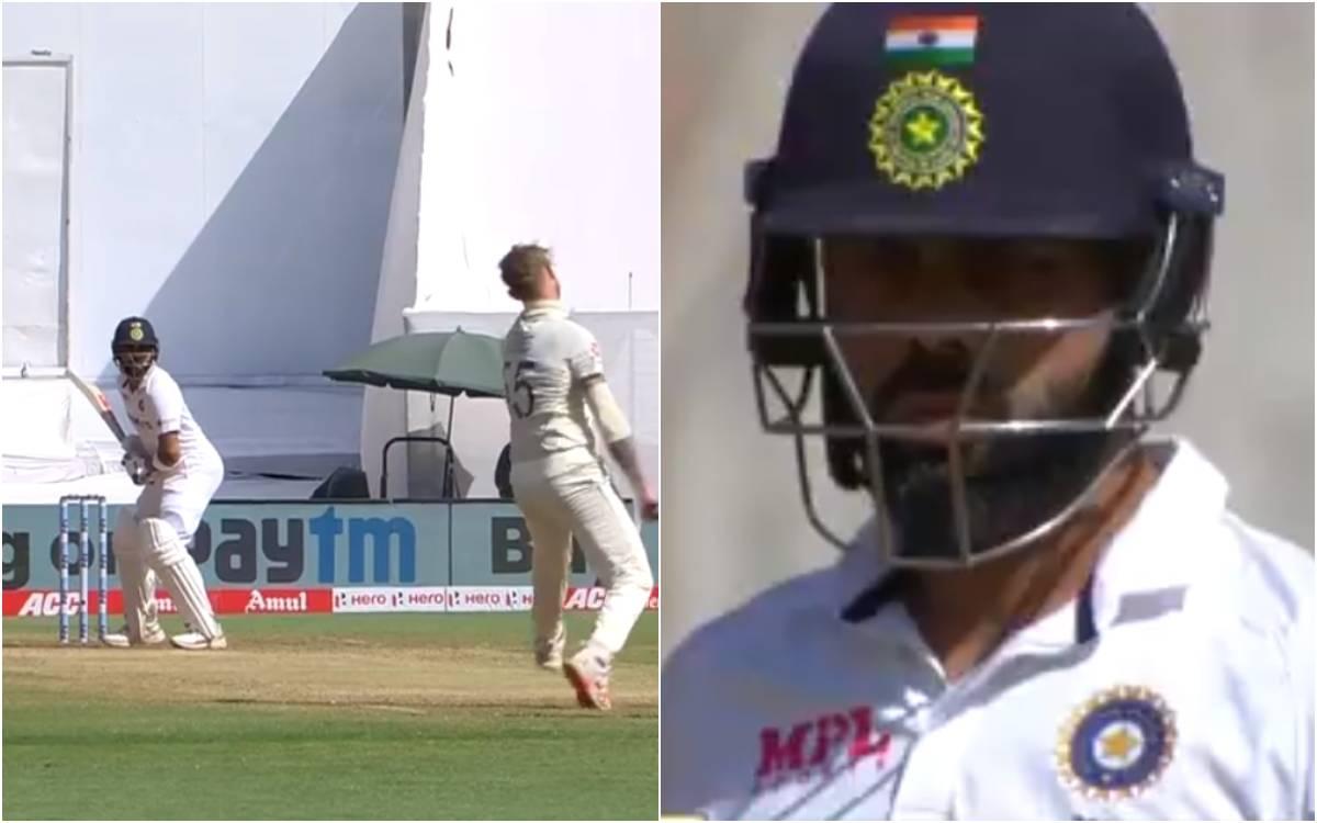 Cricket Image for VIDEO : बेन स्टोक्स ने उड़ाए विराट कोहली के होश, बिना खाता खोले पवेलियन लौटे भारती