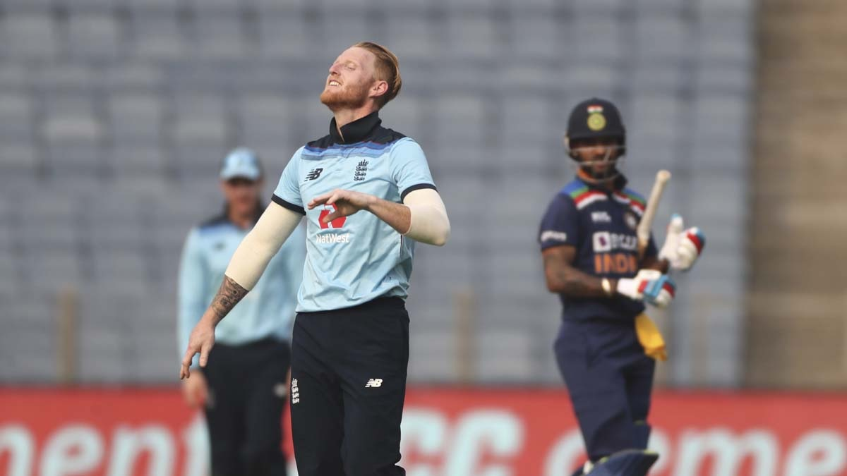 Cricket Image for 2nd ODI: Ben Stokes Warned After Getting Caught Using Saliva On The Ball