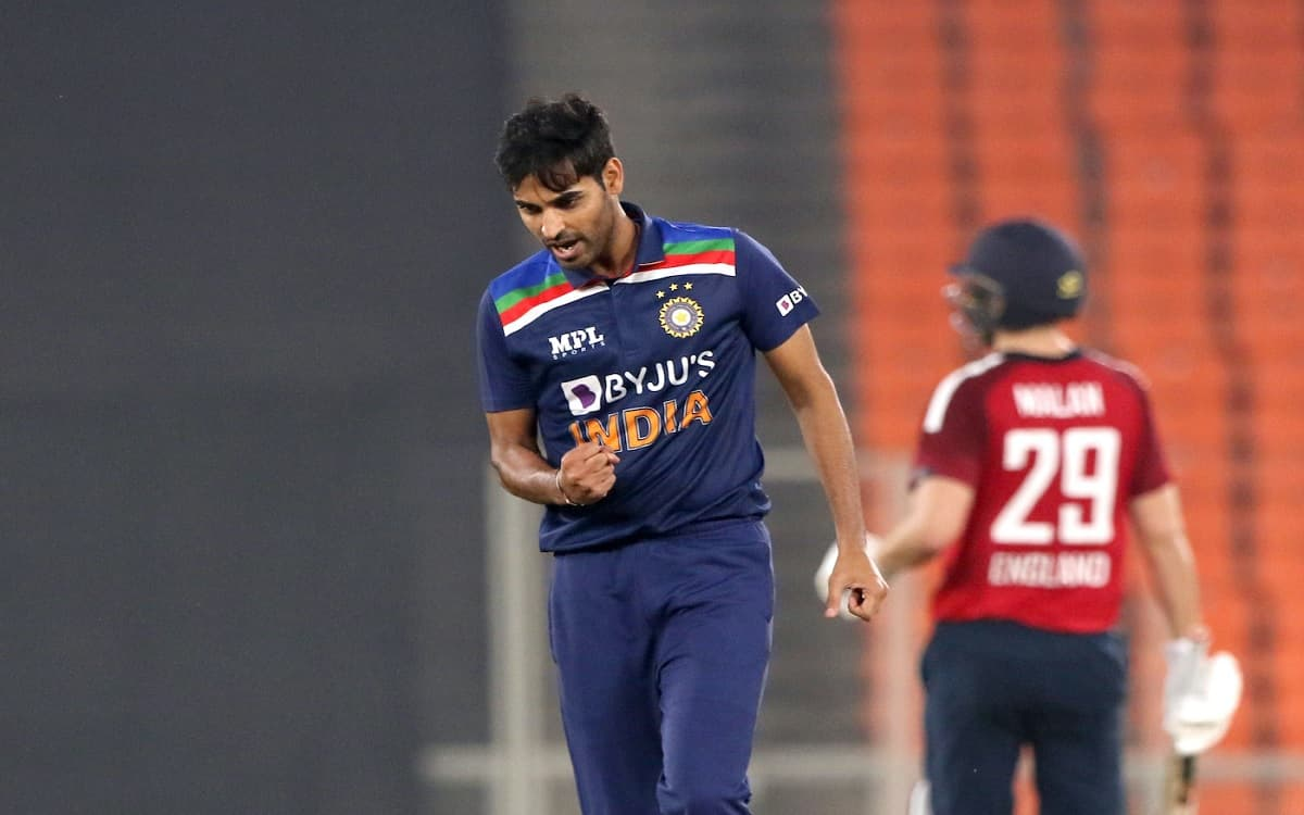 Cricket Image for  Bhuvneshwar Kumar Reached The Highest Point Of His Career At Number Nine In Crick