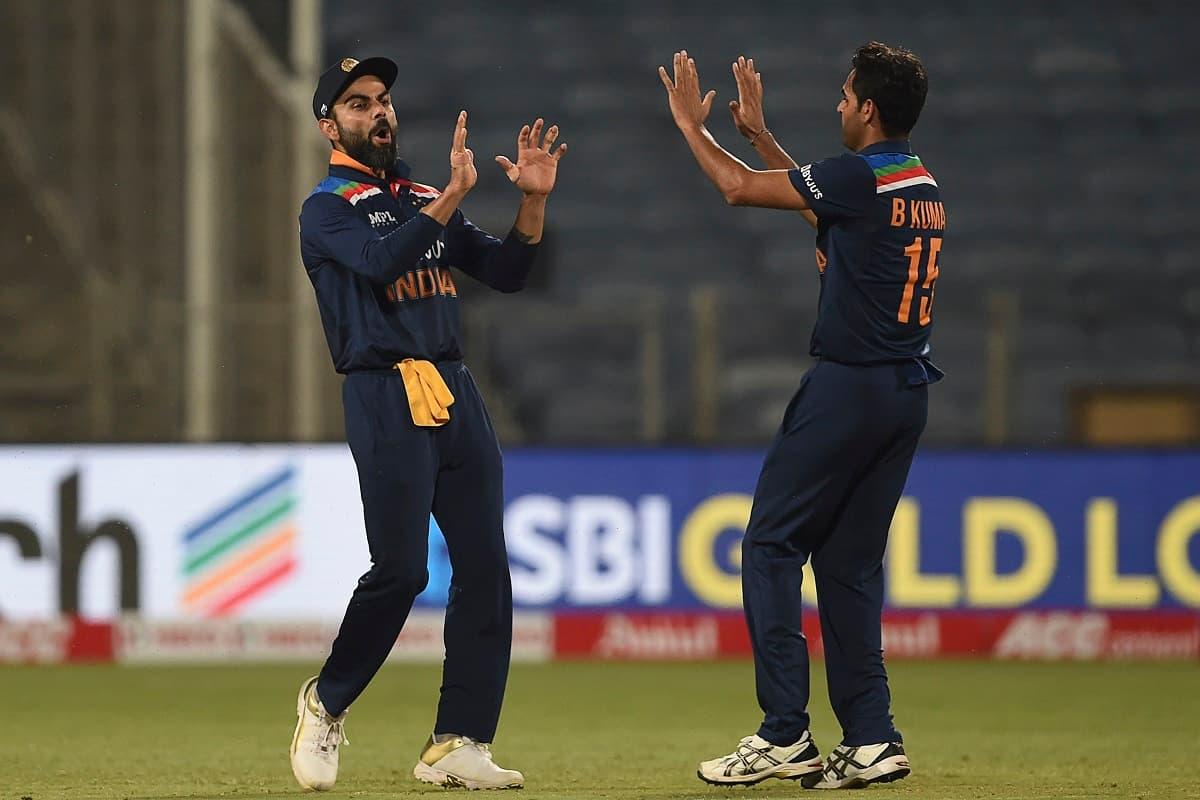 Cricket Image for Bhuvneshwar Kumar Rises In ODI Rankings, Kohli Slips In T20Is