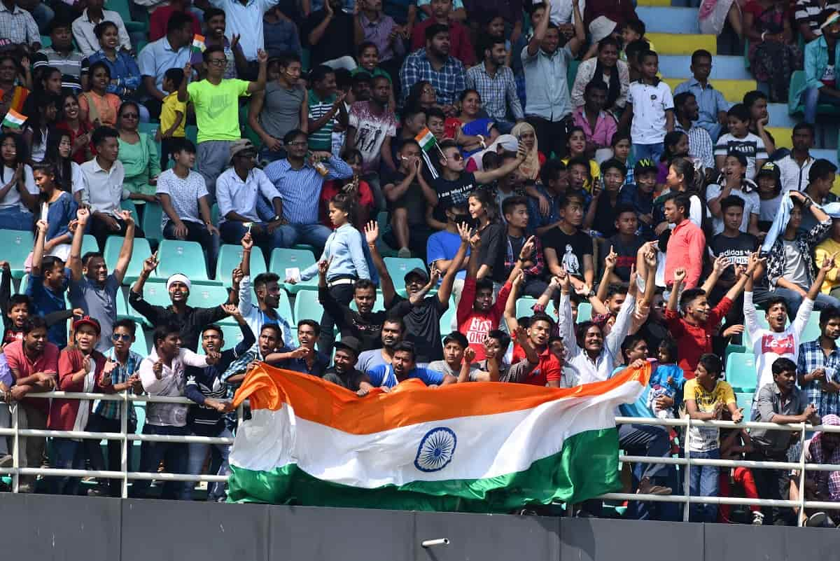 Cricket Image for India-England 1st T20I Sees Record Crowd In Post Covid World