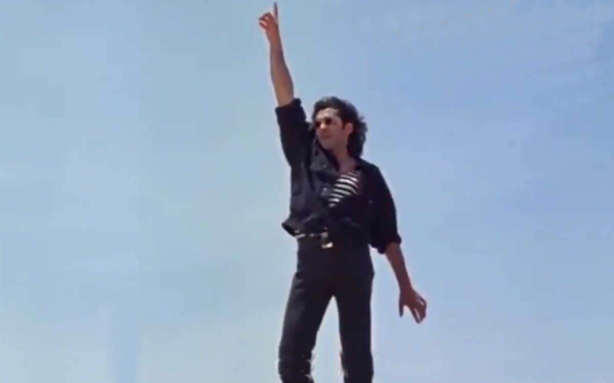 Cricket Image for Bollywood Actor Bobby Deol Dance Moves Like An Umpire
