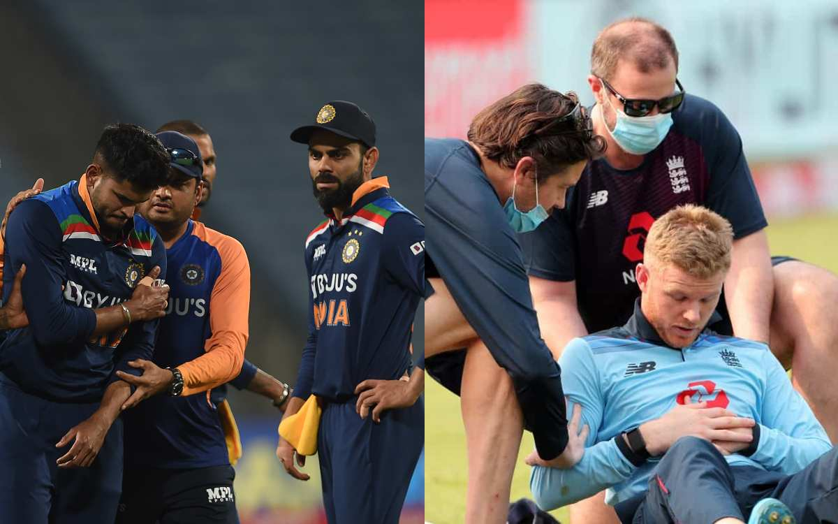 Cricket Image for Concerns In Both Camps As India-England Players Suffer Injuries During 1st ODI