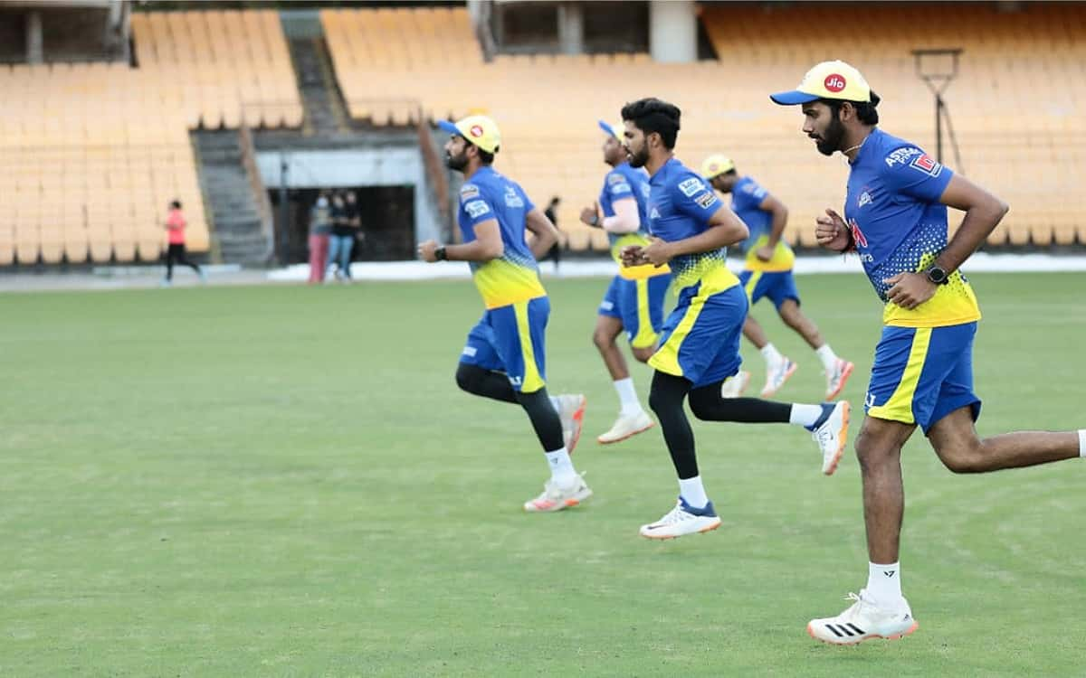 Cricket Image for Chennai Super Kings Training Camp Will Take Its Way From Chennai To Mumbai For Ipl