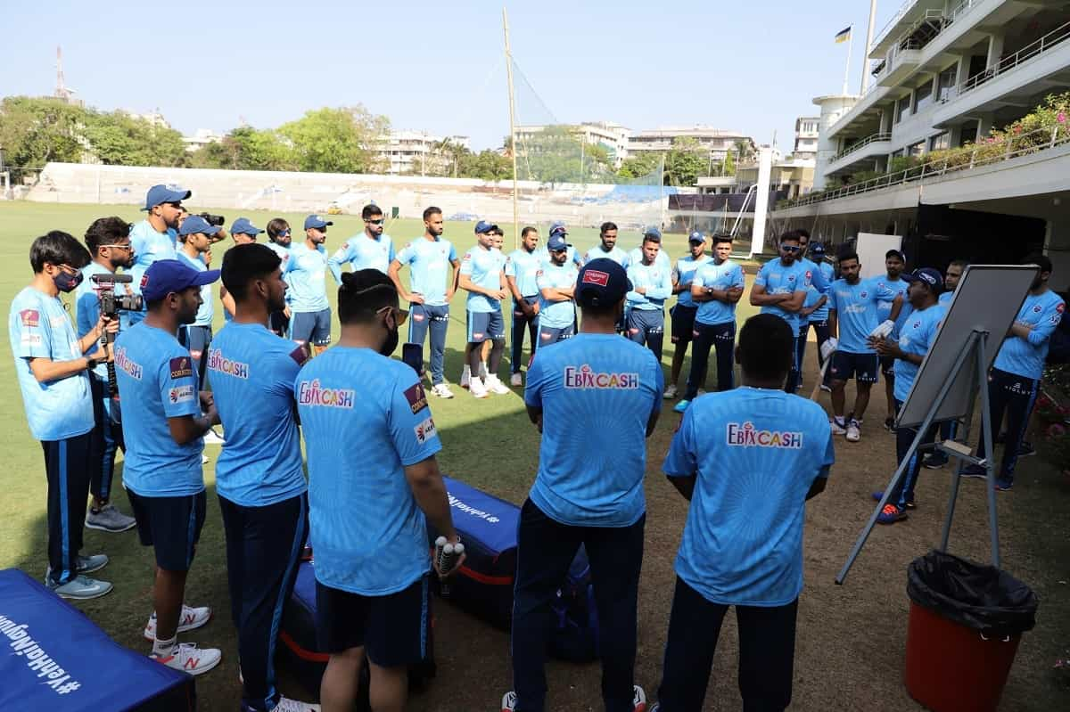 Cricket Image for Delhi Capitals Start Training On The Day Rishabh Pant Announced As Captain