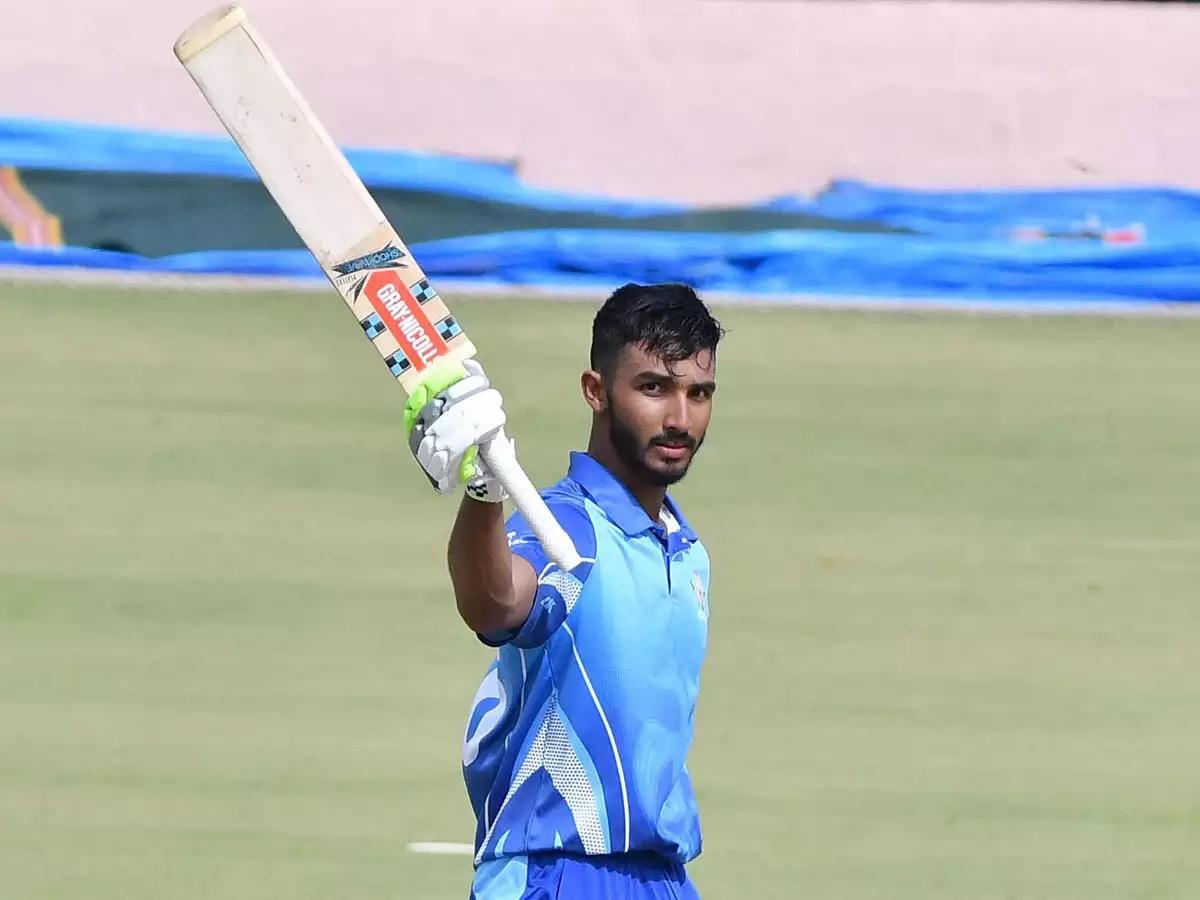 Cricket Image for Devdutt Padikkal Takes Vijay Hazare Trophy 2021 By Storm