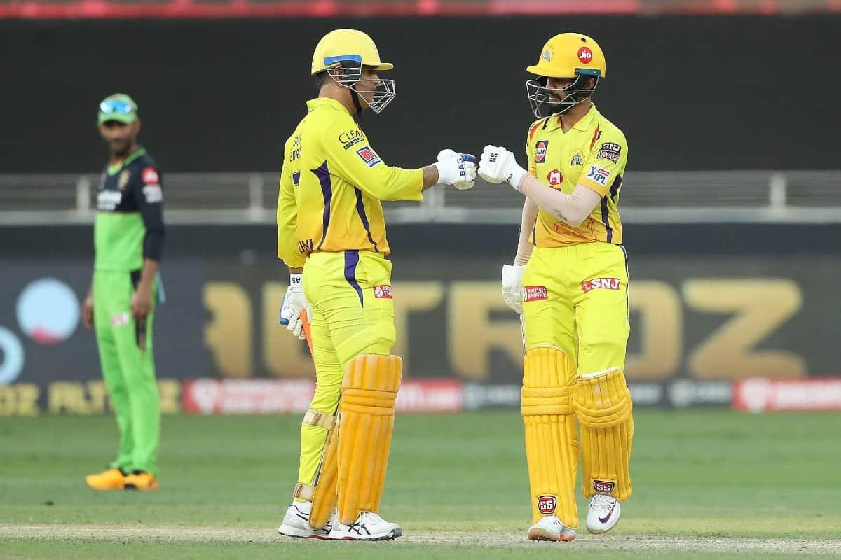 Cricket Image for Dhoni's Advice In IPL 2020 Helped Ruturaj Gaikwad Regain Form