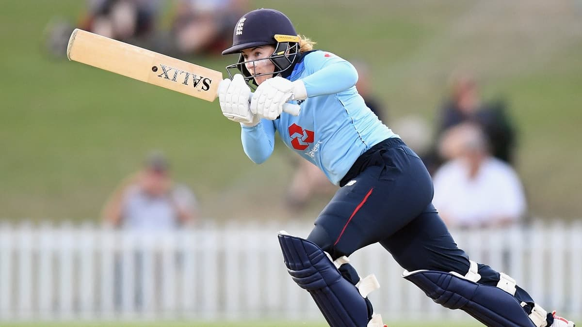 Cricket Image for England's Beaumont Jumps Five Places To Top Women's ODI Rankings