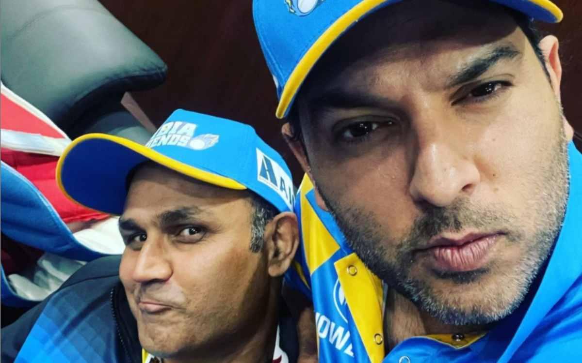 Cricket Image for 'लगता है अब युवी और सहवाग का नंबर है', चार खिलाड़ियों के कोविड पॉज़ीटिव होने के बा