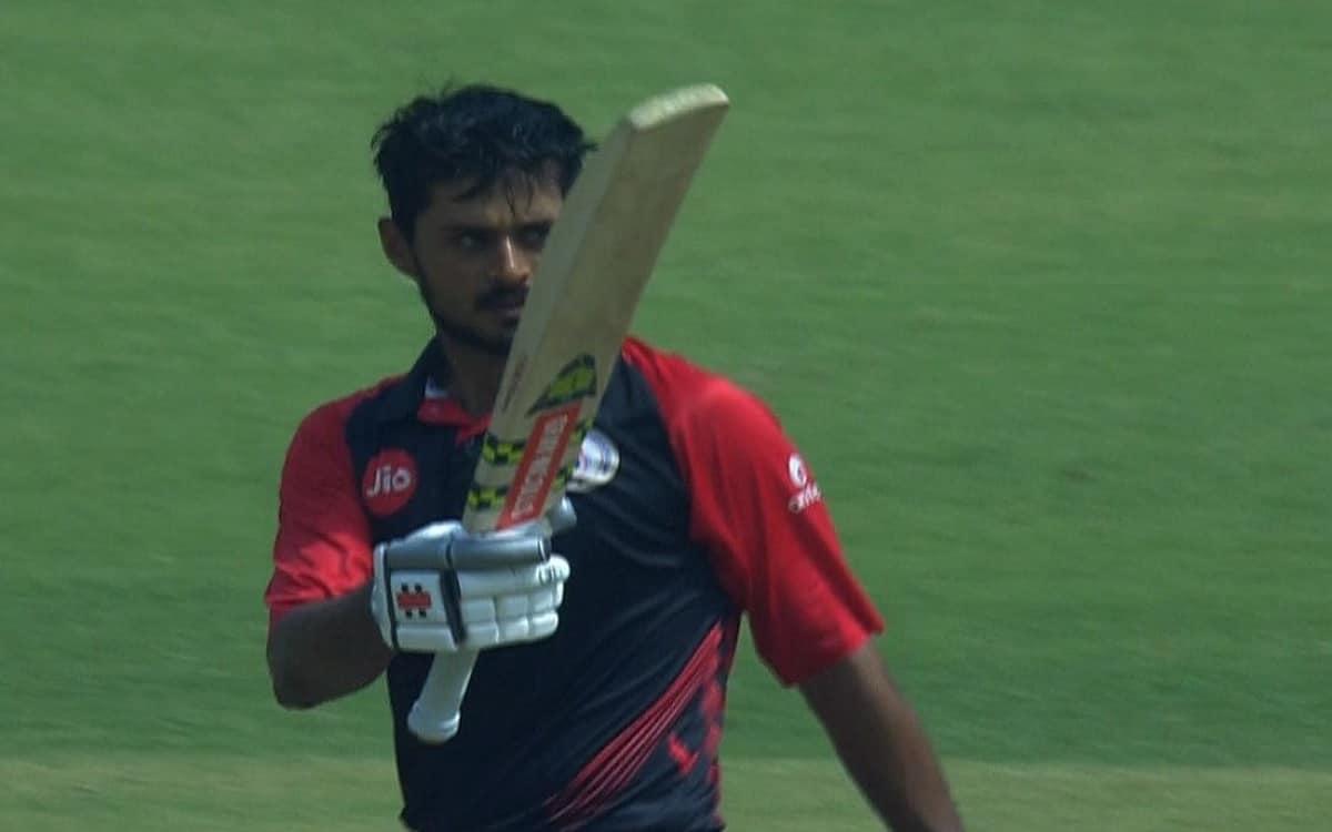 Cricket Image for Gujarat Defeated Andhra Pradesh By A Big Margin Of 117 Runs In Vijay Hazare Trophy