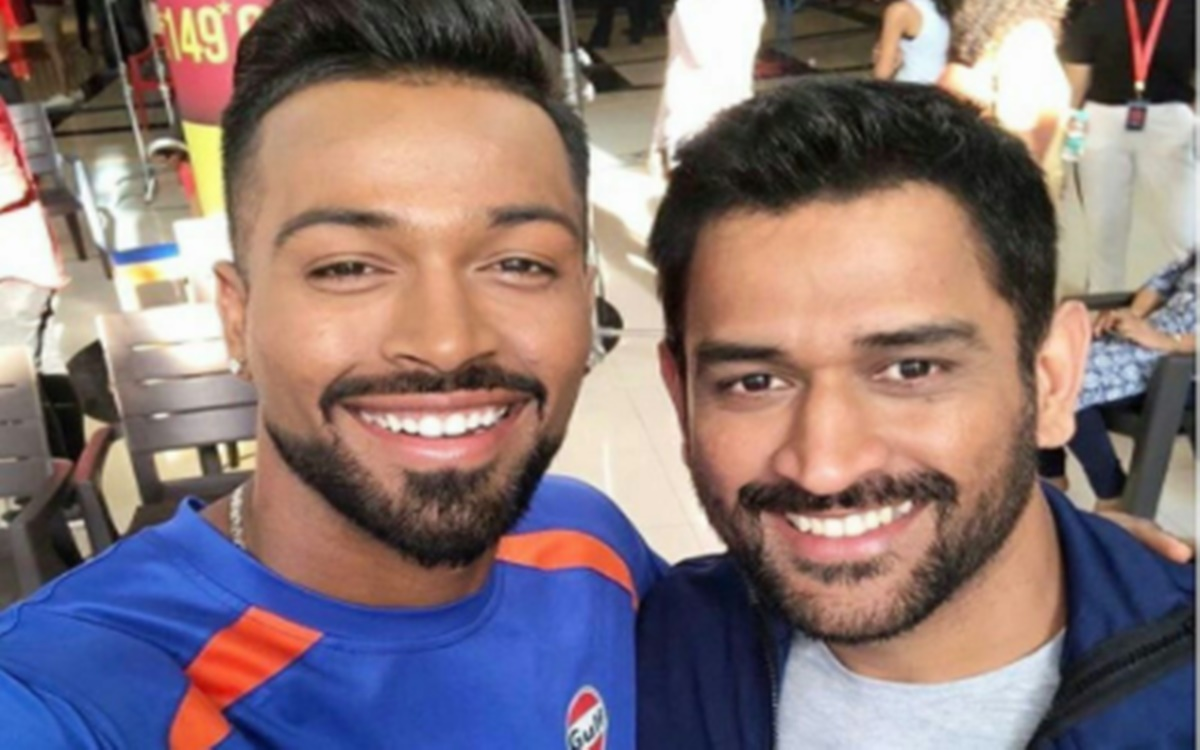 Cricket Image for Hardik Pandya Shares Former Indian Captain Ms Dhoni Younger Version Photo