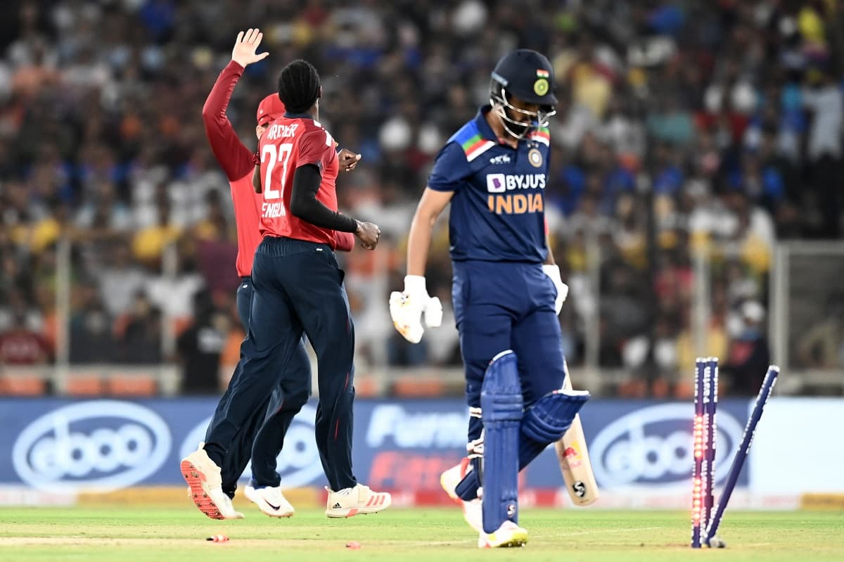 Cricket Image for England Make Merry Of India's Struggle To Counter Genuine Pace