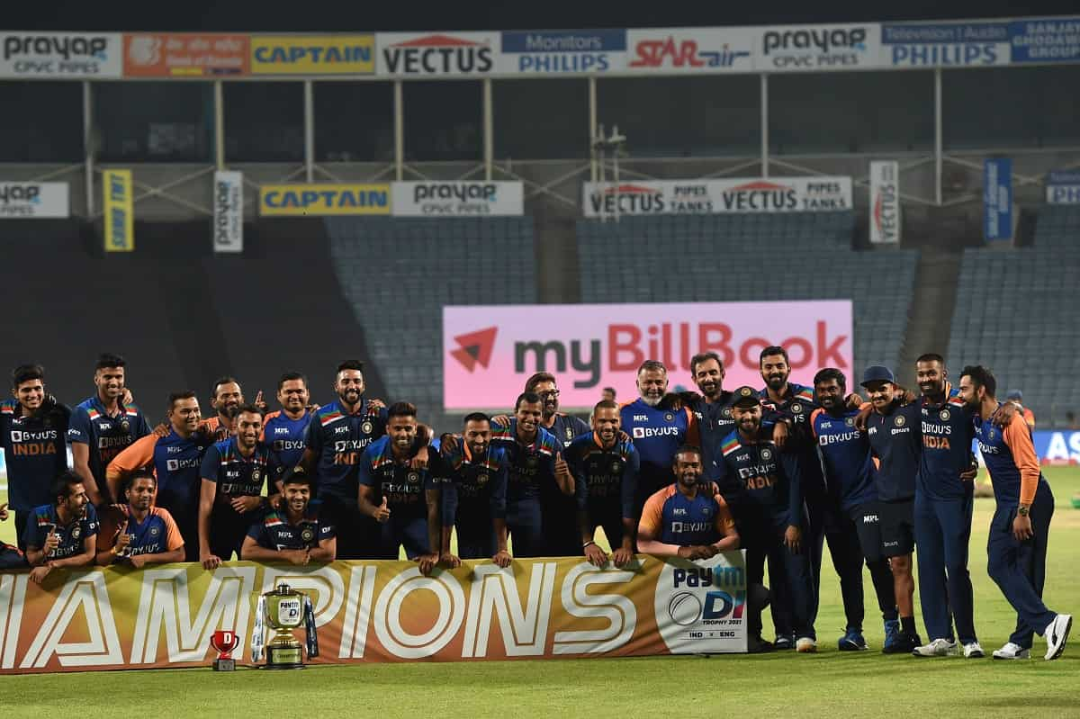 Cricket Image for 3rd ODI: India Beat England In A Thriller To Win ODI Series 2-1