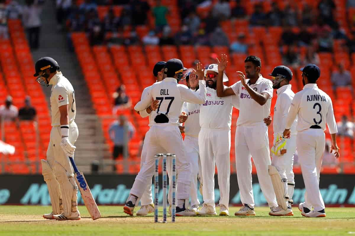 Cricket Image for India Score 1/24 After Spinners Bowl England Out For 205 On Day 1