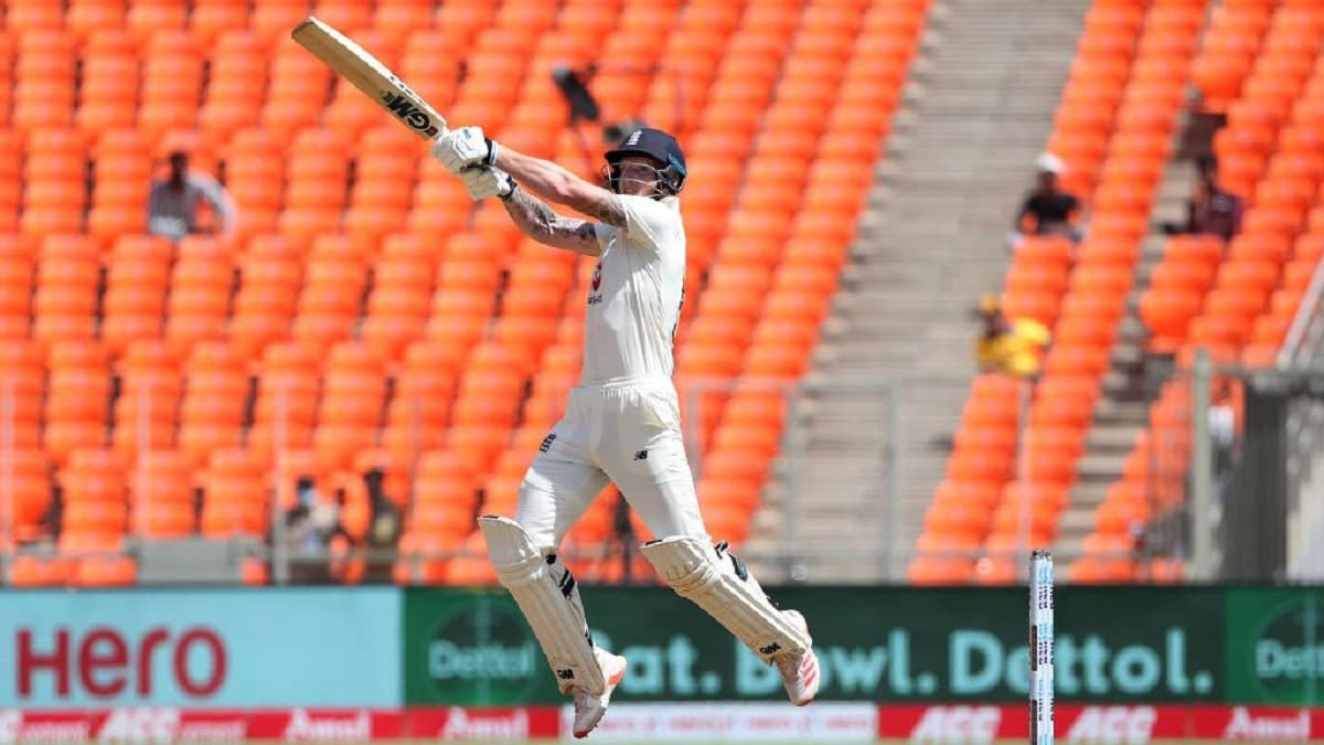 Stokes Fifty Helps England Reach 144/5 At Tea