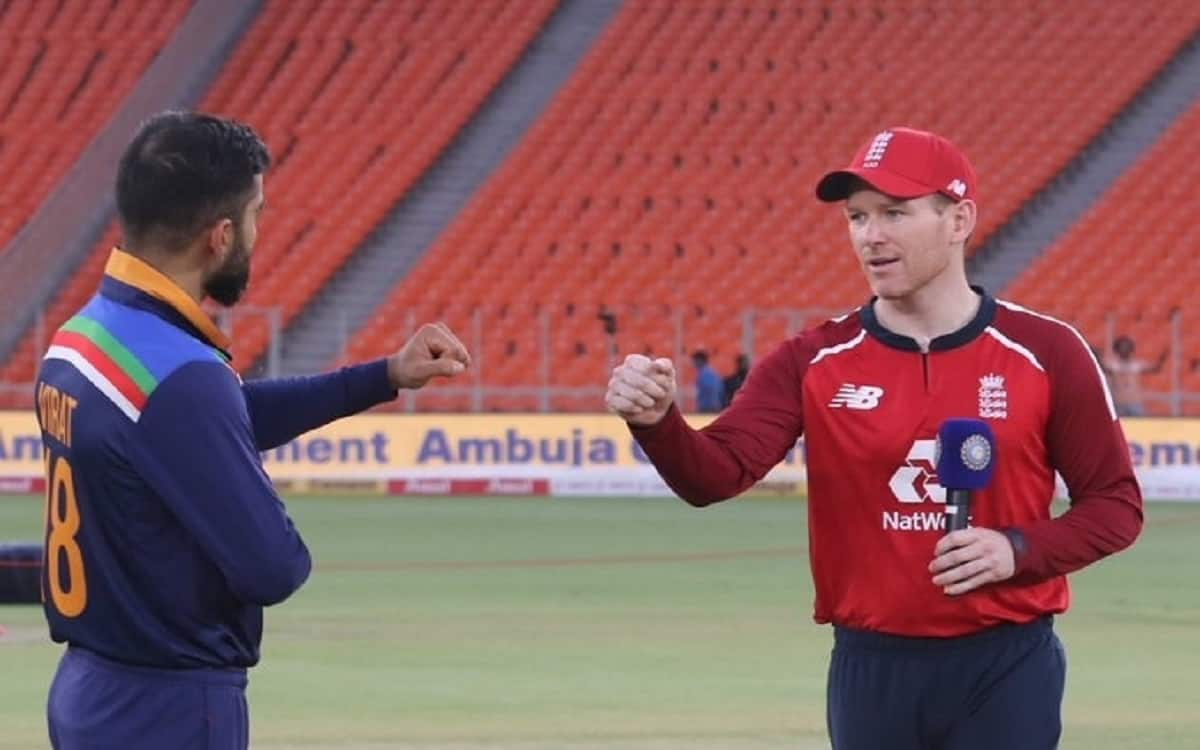 Cricket Image for England Won The Toss And Elected To Bowl Against India For Fifth T20 Match