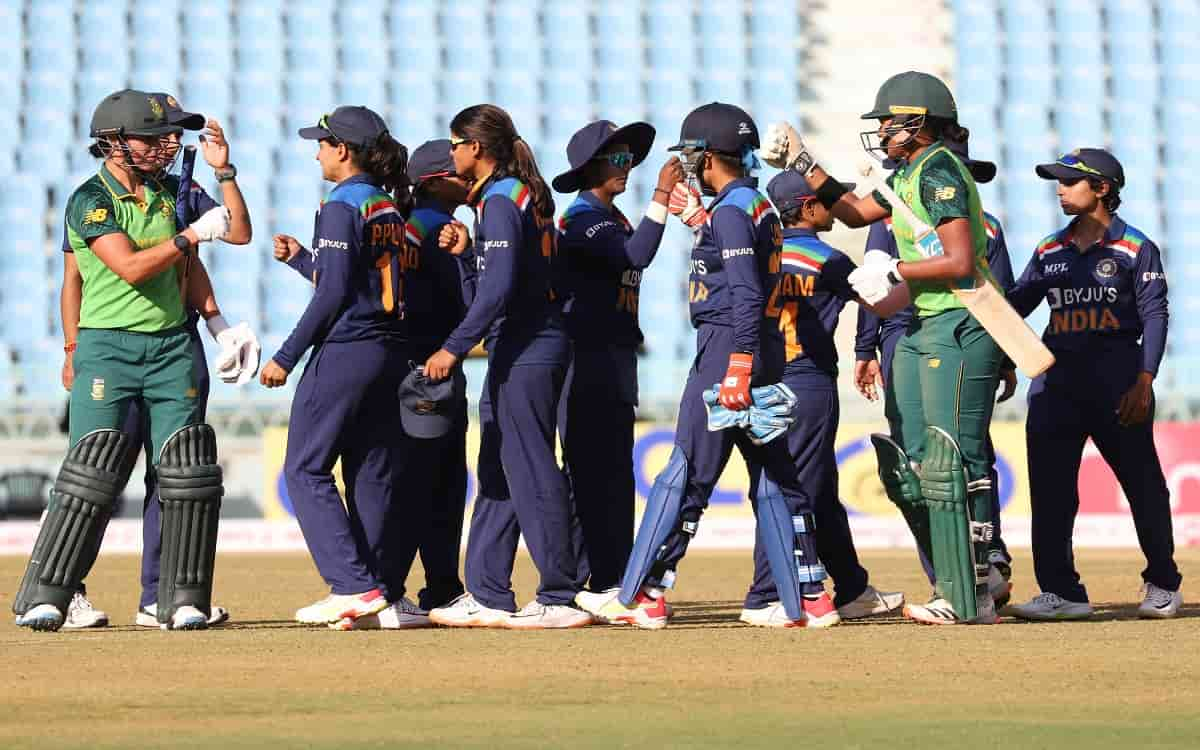Cricket Image for By Winning The Last T20 Match Against South Africa Indian Womens Team Has A Chance