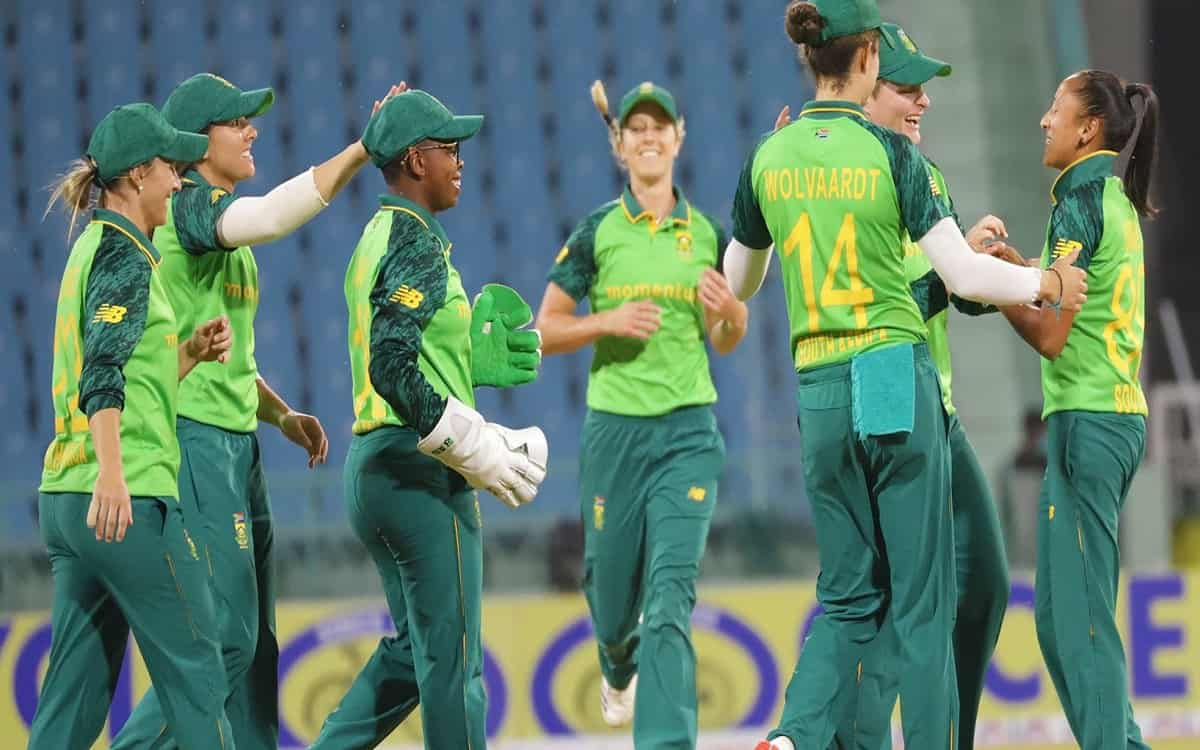 Cricket Image for  Indian Womens Team Helpless In Front Of South Africa Defeated By 6 Wickets
