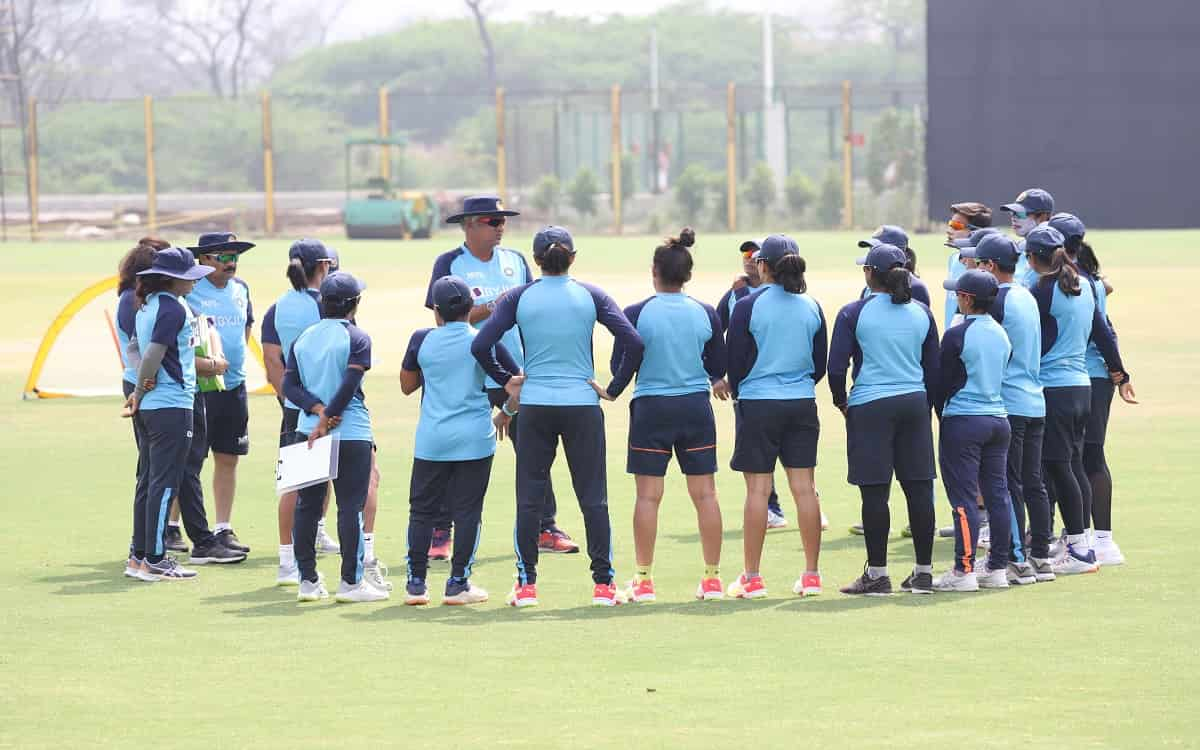 Cricket Image for Indian Womens Team Ready For Third Odi Against South Africa